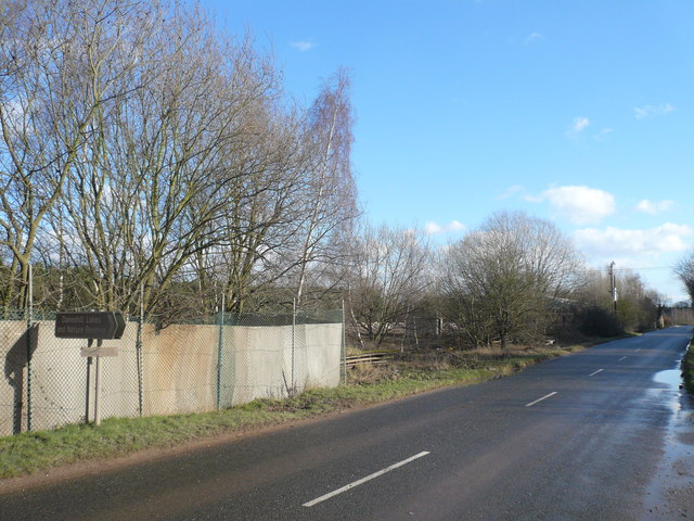 Daneshill Road - View in direction of Lound