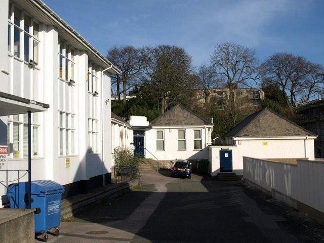 Former Construction Department., South Devon College