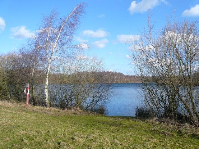 Daneshill Lakes View