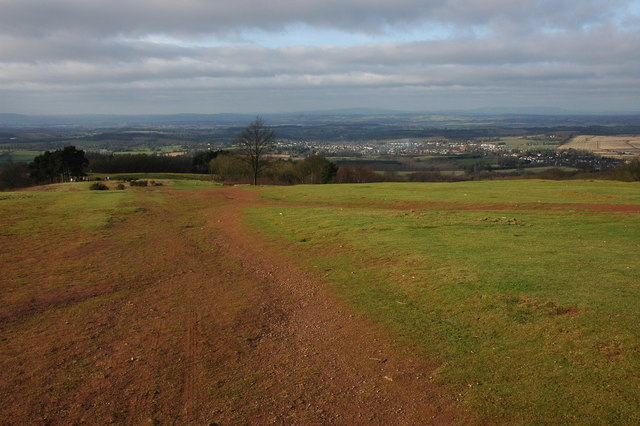 View to the west from the Clent Hills