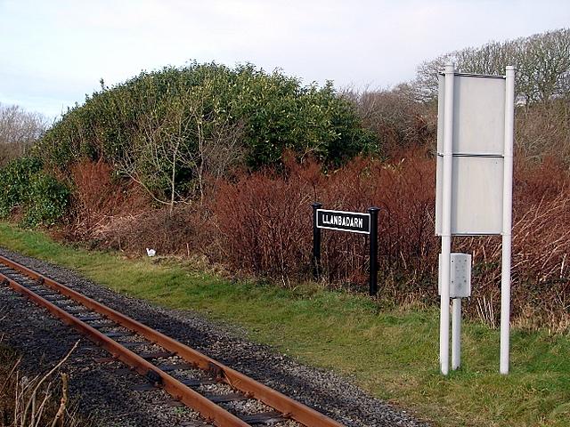 Llanbadarn Station, Vale of Rheidol Railway