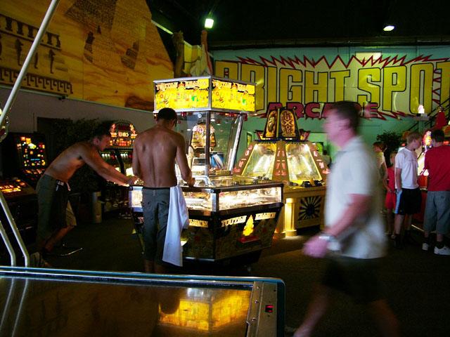 New Brighton indoor funfair