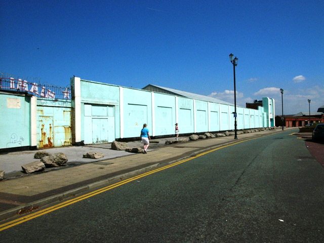 New Brighton - rear of the funfair