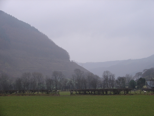 The Rheidol Valley