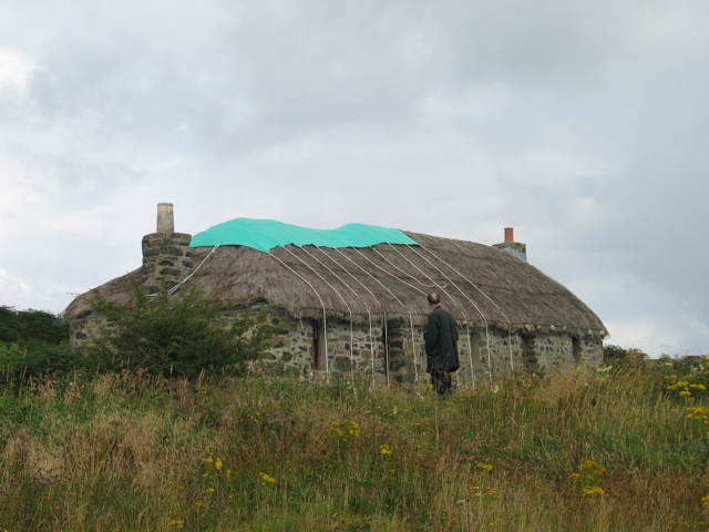 Blackhouse on the Isle of Ulva