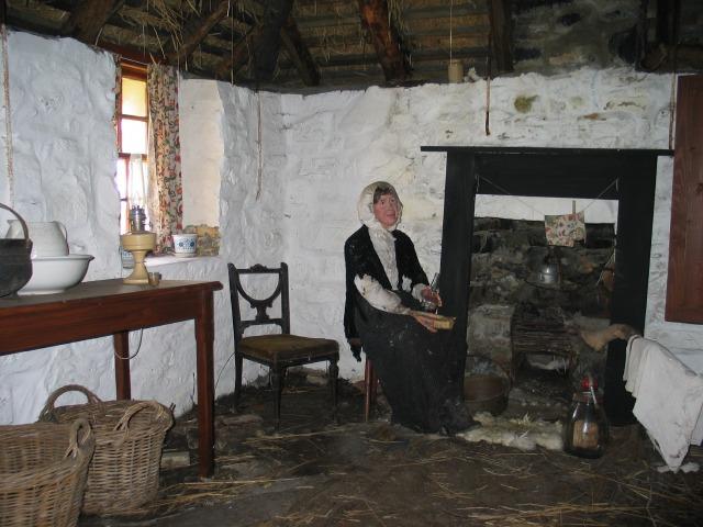 Blackhouse interior