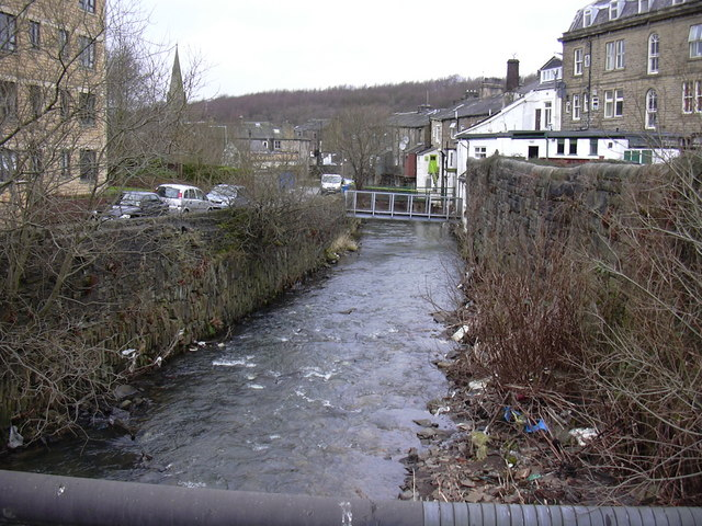 River Irwell at Waterfoot