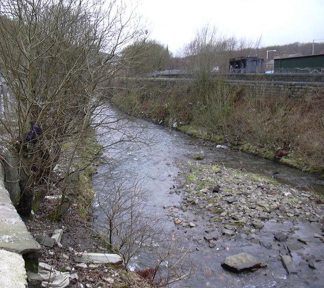 River Irwell Flows West