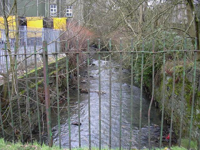 River Irwell at Farholme Lane