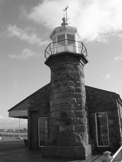 Lighthouse on the Stone Jetty