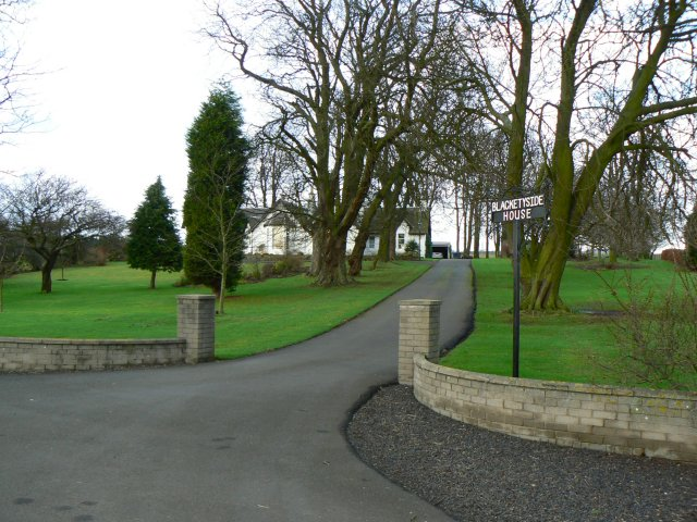 Entrance to Blacketyside house