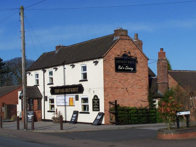 The Miners Rest, Highfields Road, Chasetown