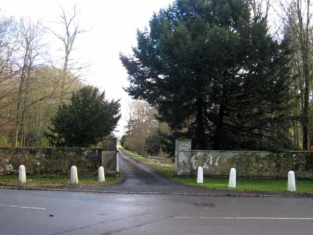 Entrance to Nunwick Park