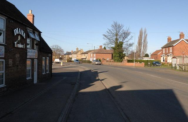 Looking Along Dartford Road towards Elliott Road