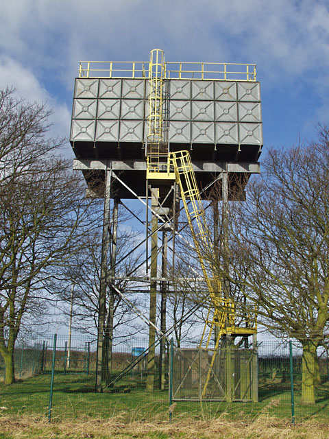 Little Weighton water tower