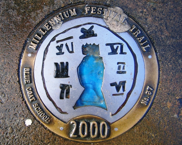 Millennium Festival Trail:  Blue Coat School - No 37