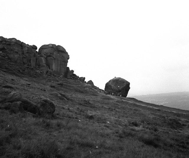 Cow and Calf Rocks, Ilkley Moor,Yorkshire
