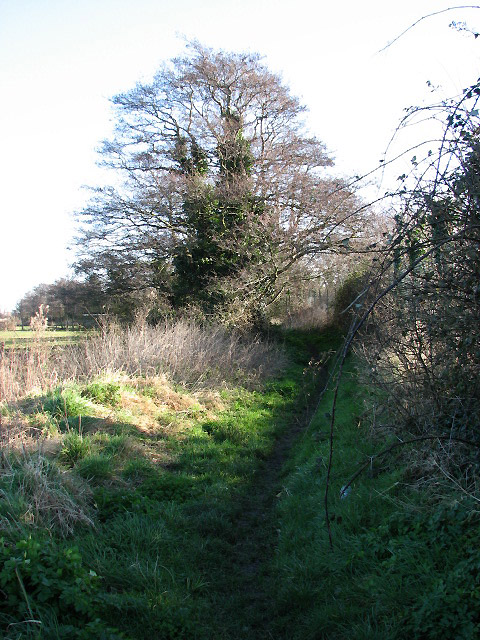 Footpath leading east