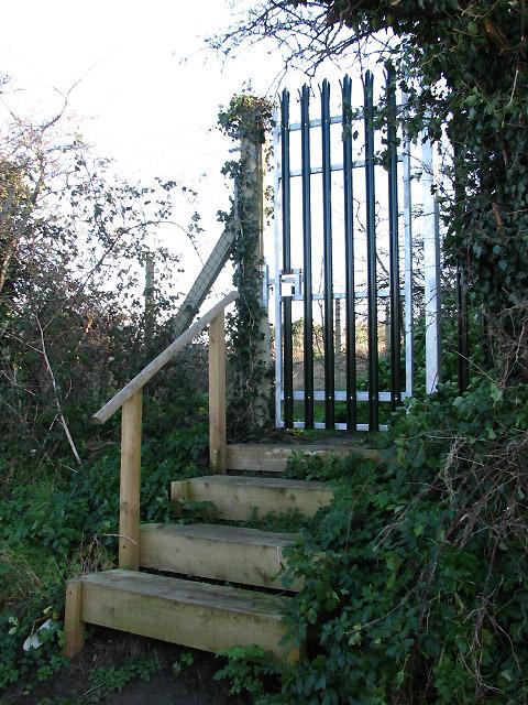 Door in the fence