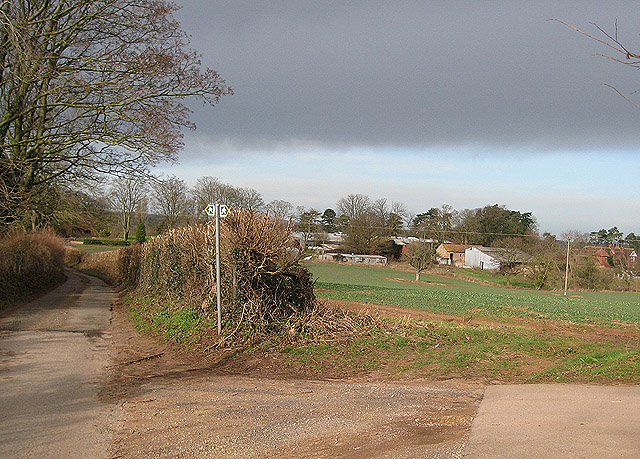 Farm buildings near Conigree Court