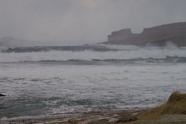 Norwick in a storm