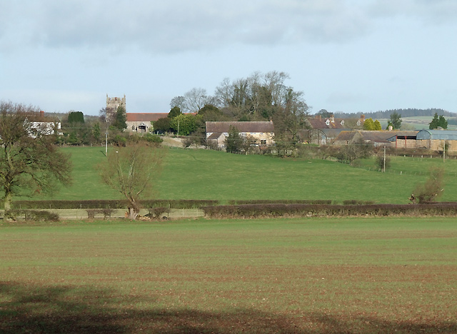 Across the Fields to Holdgate, Shropshire