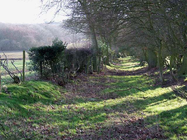 The Shropshire way near Holdgate