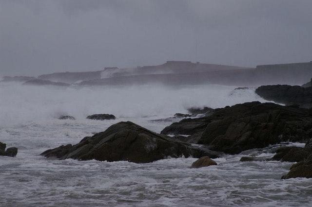 Storm at Skaw