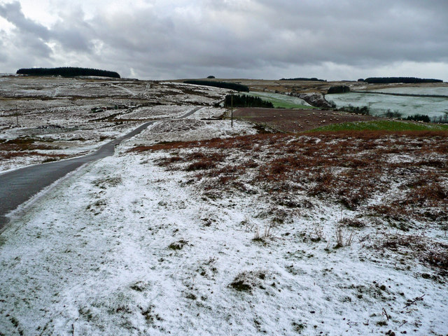 Moorland between Brecon and Builth Wells