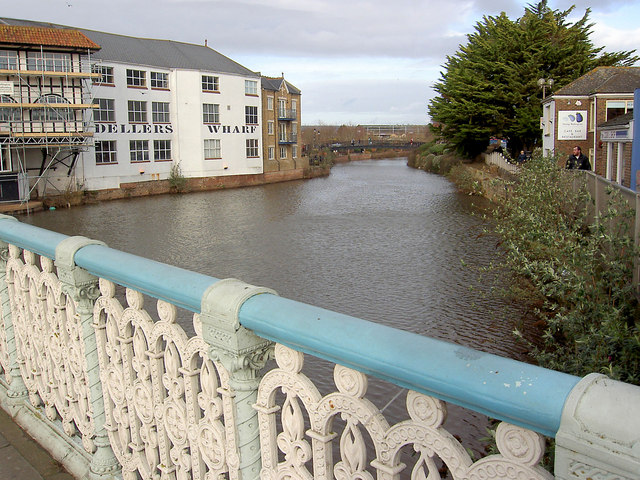 Dellers Wharf Taunton and the River Tone