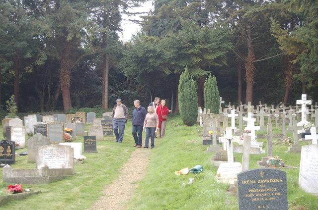 Polish cemetery in Blockley