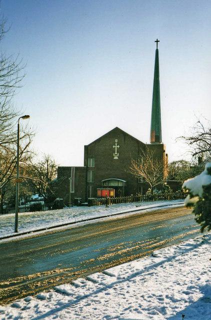 St Thomas's Parish Church, Oakwood, London, N14