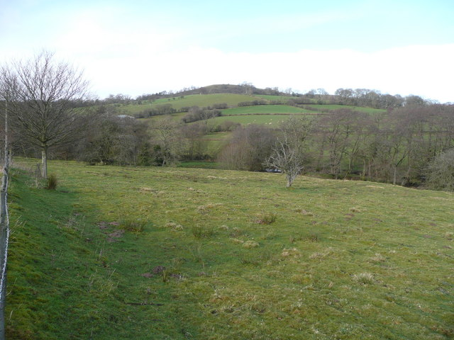 View north from near Colwyn Castle