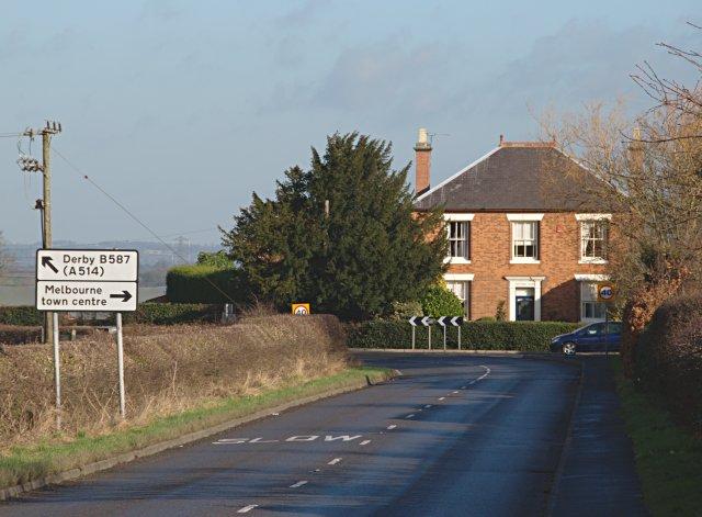 Junction of Cockshut Lane and Derby Road