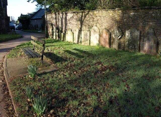 Gravestones, St Marychurch