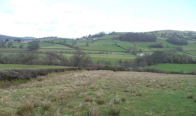 View across the Edw valley