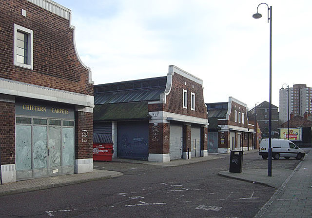 The old fruit and veg market