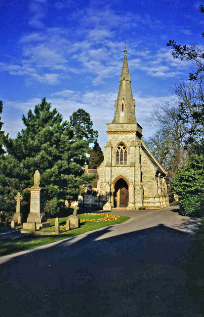 Chapel, Lavender Hill Cemetery, Enfield