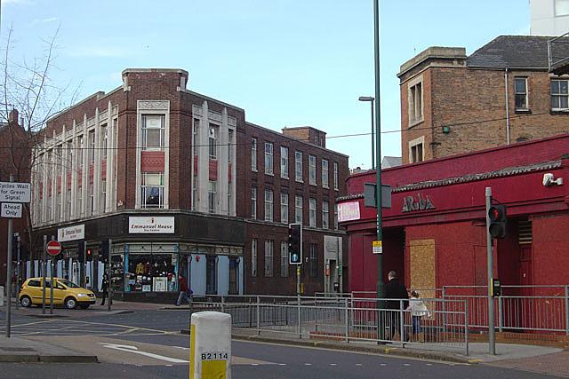Hockley and Cranbrook Street