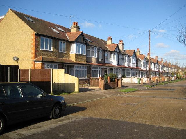 Sutton: Hurstcourt Road