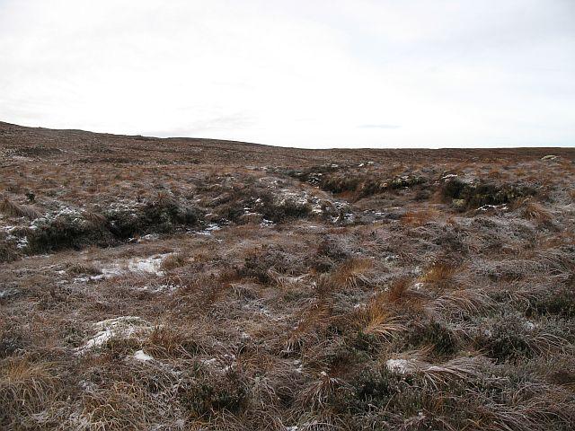 Bogs near Loch Liath