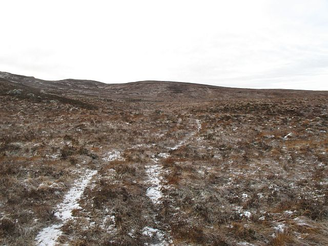 Bogs beneath Carn na Caorach