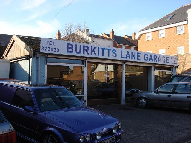 Burkitts Lane Garage