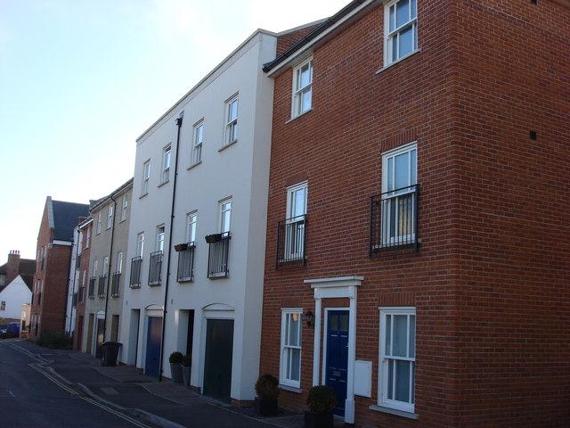 Town houses, Burkitts Lane