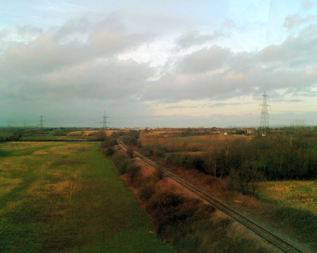 Branch line to Yate