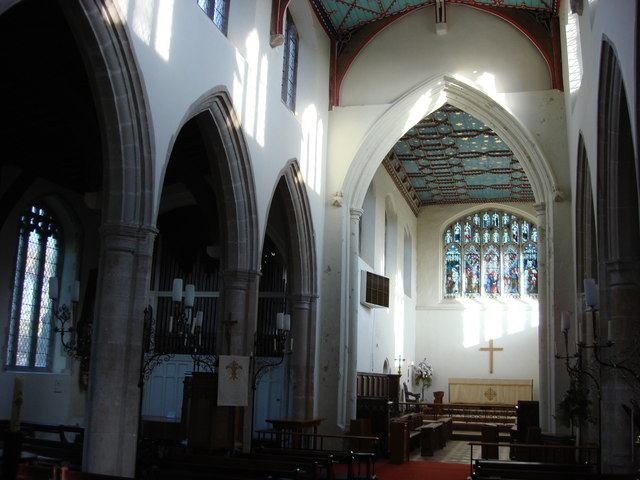 Interior, St. Gregory's Church