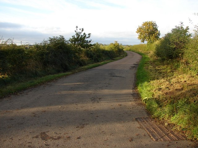 Scottish/English road near Erdrington Castle