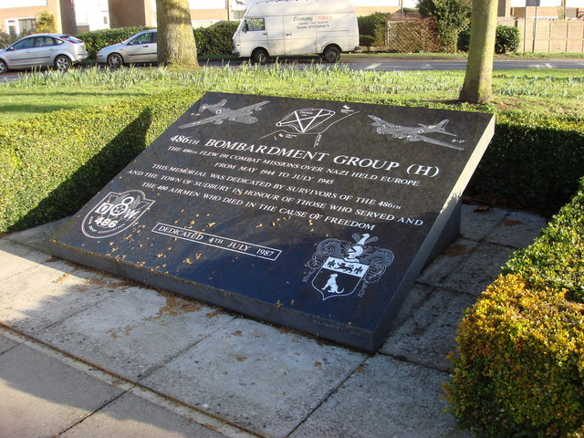 486th Bombardment Group Memorial, Gregory Street