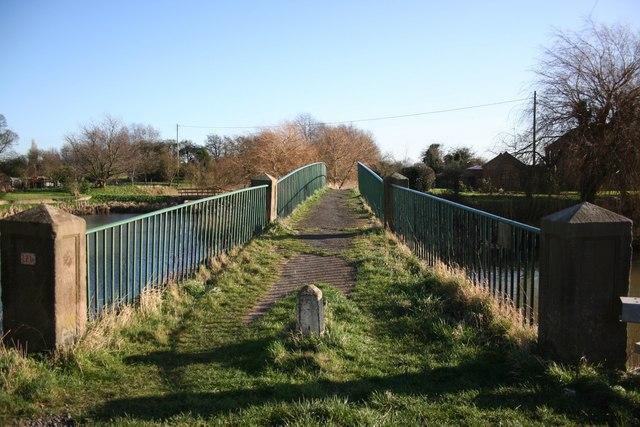 Cowbridge footbridge