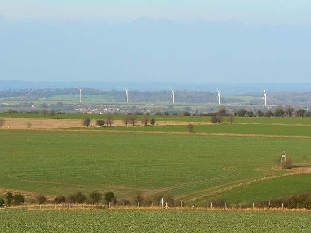 Westmill wind farm, Watchfield - a new landmark